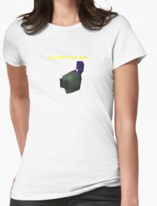 say that to my main Runescape Womens Fitted T-Shirt