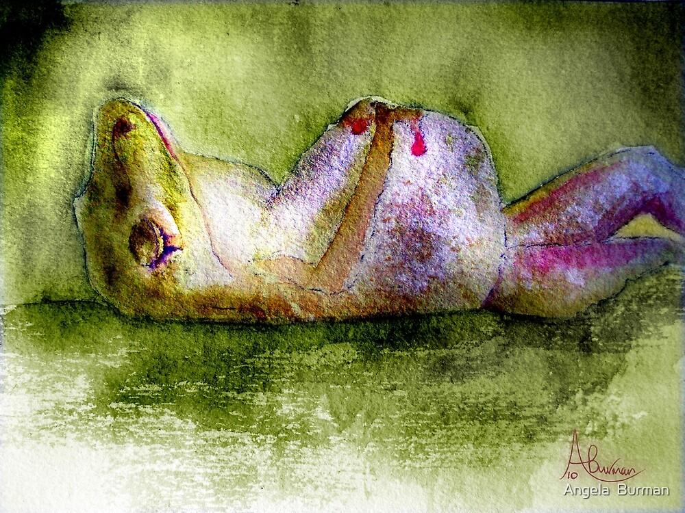 Sleep Frog by Angela  Burman