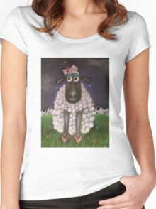 Mutton dressed as lamb Women's Fitted Scoop T-Shirt