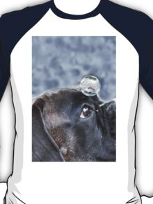 Bubble On My Head -Boxer Dog Series-  T-Shirt