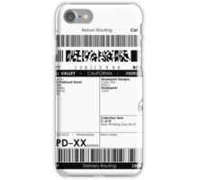 >Deliver to the McFly Residence iPhone Case/Skin