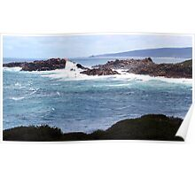 A different view of Canal Rocks Poster