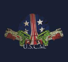 USMC Pulse Rifles One Piece - Short Sleeve