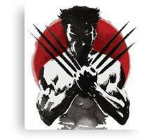The Wolverine 2 Canvas Print