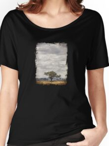 One Tree Plain Women's Relaxed Fit T-Shirt