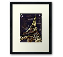 Parisian Nights Framed Print
