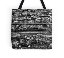 Abandoned Bench Fine Art Print Tote Bag