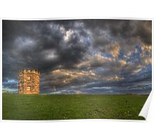The Watchtower at La Perouse Poster