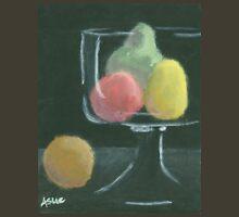 Abstract Fruit on Dark Background Still life Unisex T-Shirt