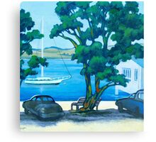 Summer in Mangonui Canvas Print