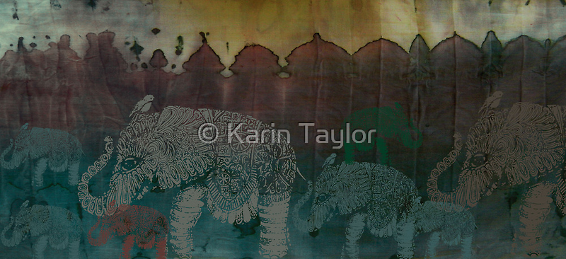 Lost City of Elephants Dawn by © Karin  Taylor