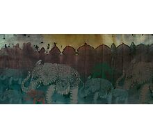 Lost City of Elephants Dawn Photographic Print