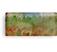 Lost City of Elephants Earth Metal Print