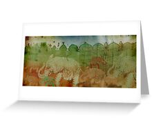 Lost City of Elephants Earth Greeting Card