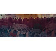 Lost City of Elephants Dusk Photographic Print