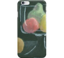 Abstract Fruit on Dark Background Still life iPhone Case/Skin