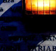 U - V Rays Sticker