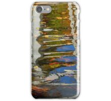 Reflections on the ripples iPhone Case/Skin
