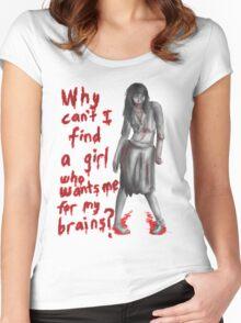 Zombie Girlfriend #1 Women's Fitted Scoop T-Shirt