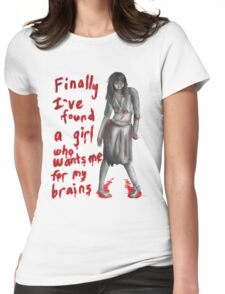 Zombie Girlfriend #2 Womens Fitted T-Shirt