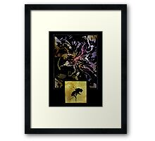 The Flower And The Fly Framed Print