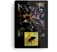 The Flower And The Fly Metal Print