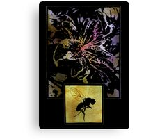 The Flower And The Fly Canvas Print