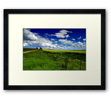 """Along The Road To Mount Pollock"" Framed Print"