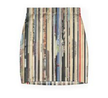 The Beatles, Led Zeppelin, The Rolling Stones - Classic Rock Albums Mini Skirt