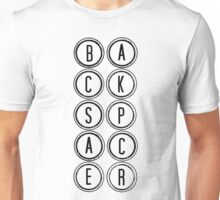 Backspacer-WS Unisex T-Shirt