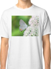 Delicate Gray Hairstreak Butterfly Classic T-Shirt