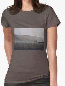 Lochranza Castle in a Storm T-Shirt