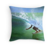 Surf #2 Throw Pillow