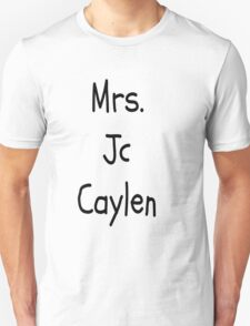 Mrs. Jc Caylen Unisex T-Shirt