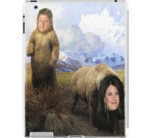 Bill and Monica Bears iPad Case/Skin