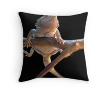 I am......Ninja Lizard Throw Pillow