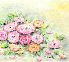Roses by Caroline  Lembke