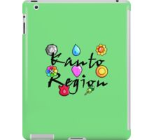 Pokemon Gym Badges: Kanto iPad Case/Skin