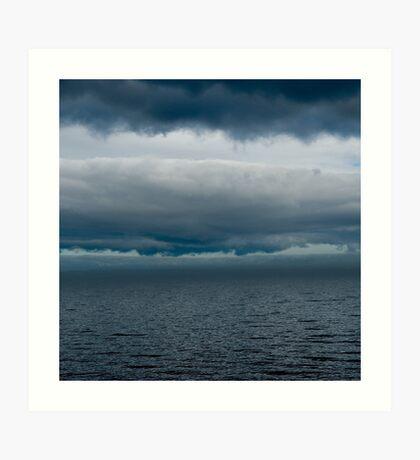 Cloudy Superior Art Print