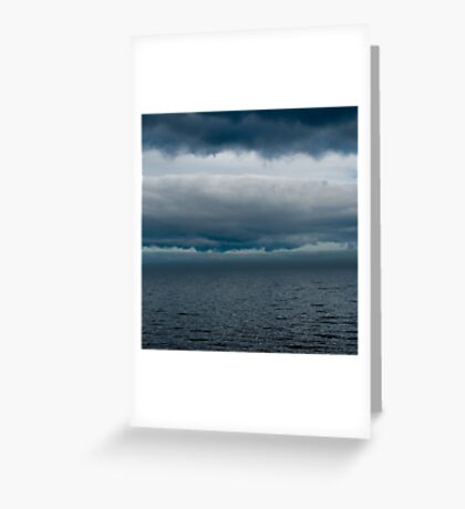 Cloudy Superior Greeting Card