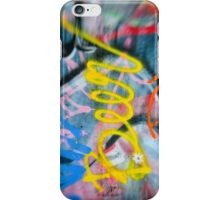 Abstract Graffiti Wall Art Photography - Have a Beer! iPhone Case/Skin