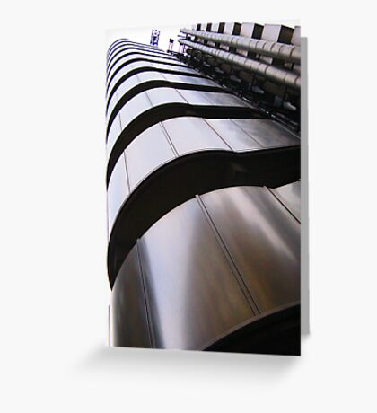 Up, up and away - Lloyds Building, London Greeting Card