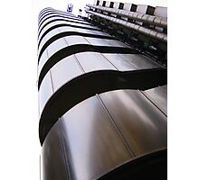 Up, up and away - Lloyds Building, London Photographic Print