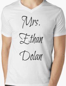Mrs. Ethan Dolan Mens V-Neck T-Shirt