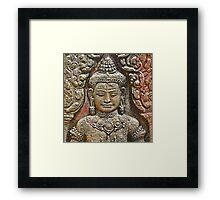 Angkor Silence Framed Print