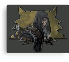 The White Wolf - Geralt of Rivia Canvas Print