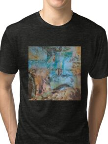 Desert and sea abstract Tri-blend T-Shirt