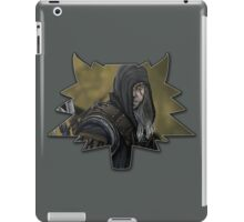 The White Wolf - Geralt of Rivia iPad Case/Skin