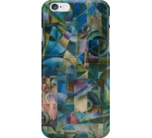 Shattered light abstract iPhone Case/Skin