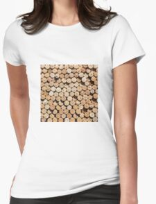 Corks Womens Fitted T-Shirt